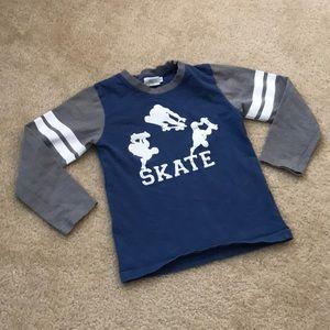 epk Long Sleeve SKATE Shirt. Size 6